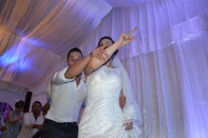 Bride and groom GreaseMega Mix Moves