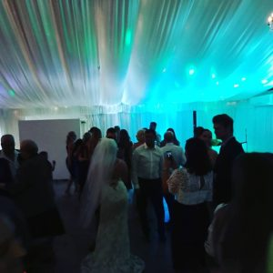 Dancing at the wedding