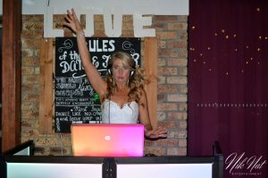 Bride Trying to DJ